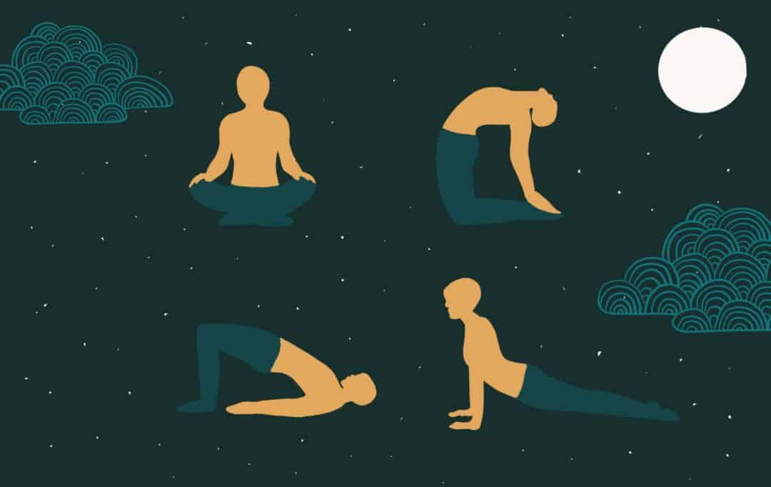 Yoga before bed
